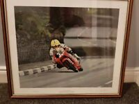 Joey Dunlop Legend print