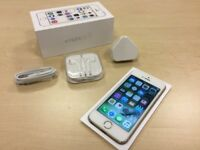 Boxed Gold Apple iPhone 5s 16GB Factory Unlocked Mobile Phone + Warranty