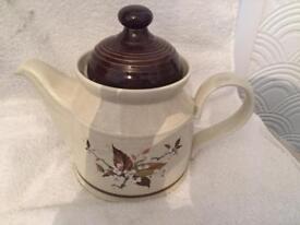 Royal doulton Lambeth ware teapot