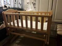 Baby's rocking crib