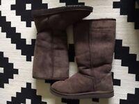 Genuine Ugg Boots Chocolate Brown UK Size 6