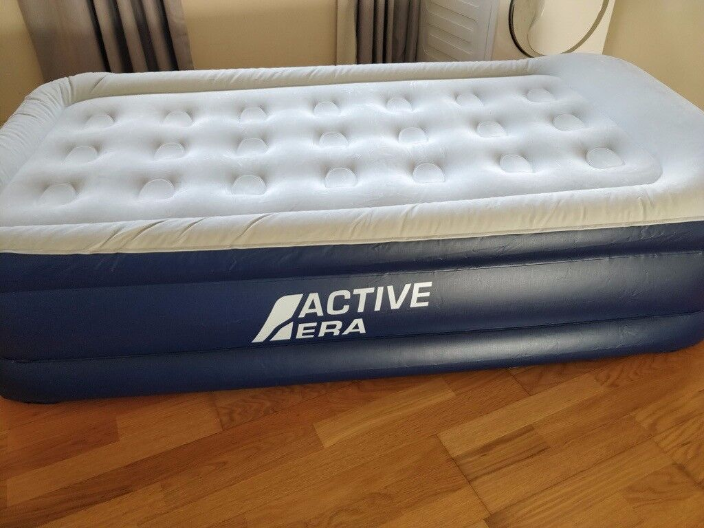 70726710c72 Active Era Luxury Single Size Air Mattress - Elevated Inflatable Air Bed ...