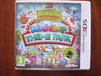 Nintendo 3ds Moshlings Theme Park Game never used