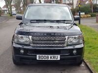 Range Rover Sports 3.6TD V8 HSE Station Wagon P/X with small car welcome