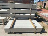 6x1 Smooth Reinforced Concrete Base Panel/ Gravel Boards ~ New