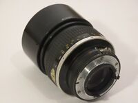 Nikon (Nikkor) 135mm f2 manual focus lens
