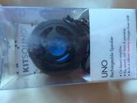 Kitsound UNO rechargeable speaker like new
