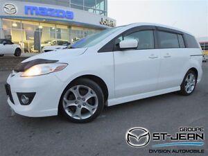 2010 Mazda MAZDA5 GT ** AUTO ** SIÈGES EN CUIR ** 6 PLACES **