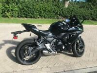 Kawasaki ninja 650 2017 black