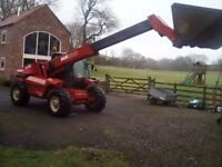 MANITOU MLT728 TURBO TELEPORTER LESS THAN 4,000 HOURS LAST OWNER FOR 13 YEARS