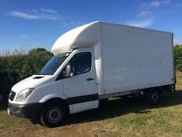 MERCEDES SPRINTER 313 CDI DIESEL 13FT 6 LUTON WITH TAIL-LIFT 2011 11-REG ONLY 58,000 MILES FROM NEW