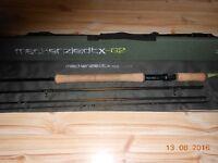 """Mackenzie DTX G2 Switch Rod 11' 2"""" 7/8 4 Piece with line to match"""