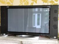 Goodmans 42inch plasma screen tv with 2 large speakers