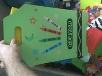 Children's toy boxes