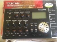 TASCAM DP-004 Portable 4-track Digital Pocketstudio BOXED+COMPLETE with power supply