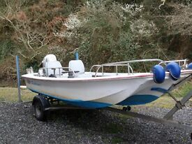 Dory 13 With Honda BF10hp + Trailer