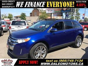 2013 Ford Edge SEL 75KM NAV LEATHER  PANO ROOF  20 WHEELS