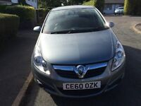 Vauxhall Corsa 1.2i Only 18000 miles Immaculate FSH MoT til August 27th 2017