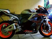 Cbr rr limited edition. Swap px bike or car.