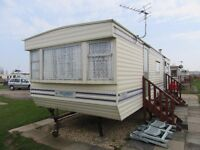 6 BERTH CARAVAN TO LET AT GOLDEN PALM RESORT CHAPEL St. EONARDS