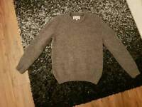 Thick wool barbour jumper for sale