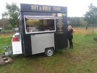 Snack bar trailer