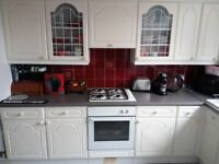 Kitchen cupboards for sale, buyer must collect