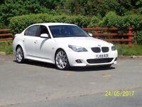 BMW 5 series 520d M sport Business edition Diesel. Black leather. Sat nav. Blue tooth.