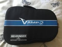 Behringer Vamp 2 Guitar pod + accessories