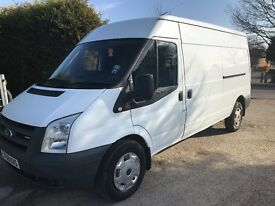 Ford transit 100t350l 2009 (59) Lwb semi high roof very good condition throughout