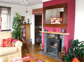 Two Lovely Rooms for Rent in Arty, Chilled, Vegetarian House in Saltdean.