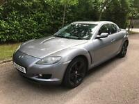 MAZDA RX-8 192 PS COUPE 2.7 2004 FULLY LOADED 80k FULL SERVICE HISTORY FROM MAZDA