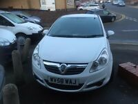 VAUXHALL CORSA VAN 1.3CDTI 2008/58REG DIRECT FROM BT £1750