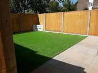 GARDEN FENCING PAVING TURFING DECKING ASTRO TURF AND MUCH MORE