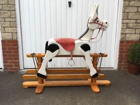 Muffin the Mule style rocking horse