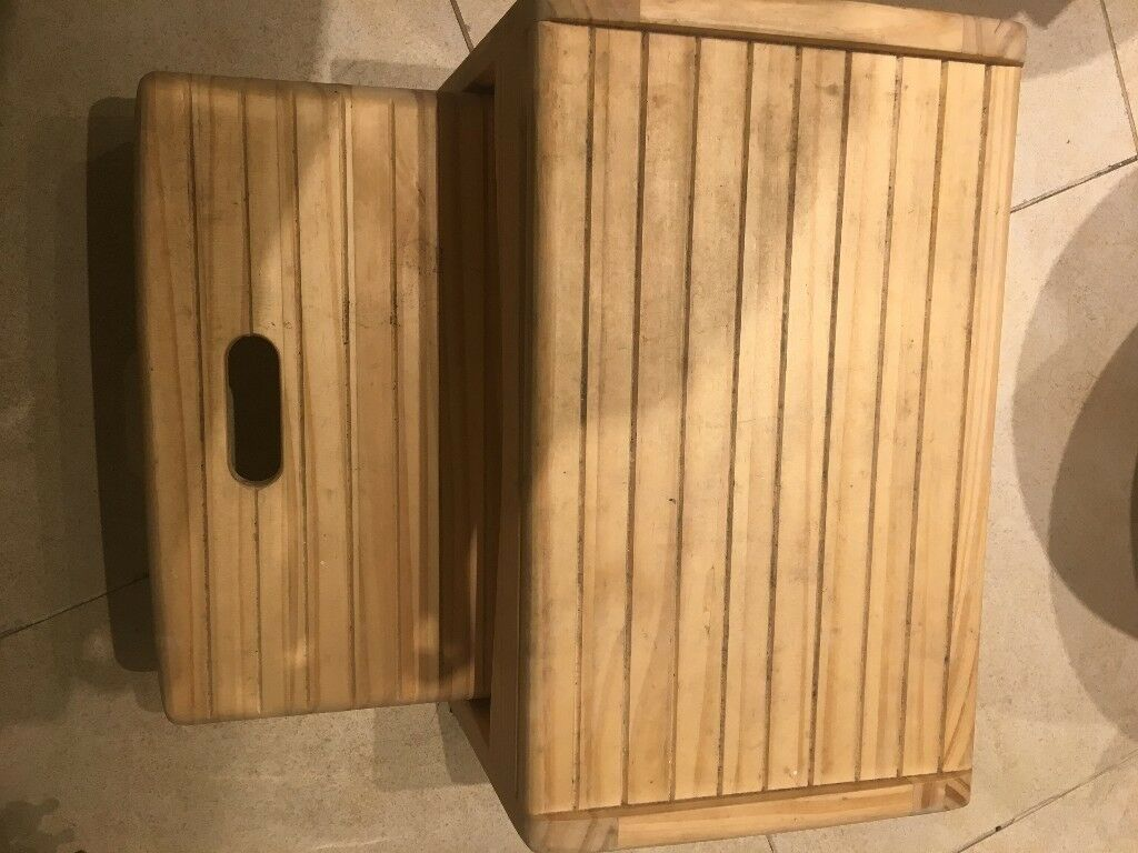 Safety 1st Wooden 2 Step Stool, Natural   in Clapham, London   Gumtree