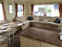 Static Caravan for Sale – 4 Star Park – 2018 SITE FEES INCLUDED – Open 12 months a year – Sea Views