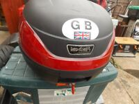 Small motorcycle top box 20 liter