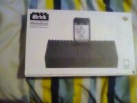 Ibrick stereodock for ipod touch music speaker thing
