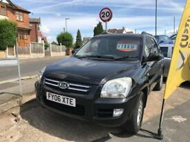 Kia Sportage xs diesel leather 2006/06