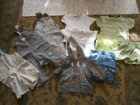 Large Bundle of Baby Boy clothes aged 6-9 months