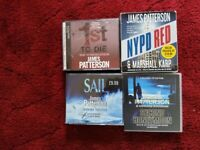 AUDIO BOOKS BY JAMES PATTERSON