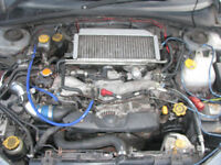 Subaru Impreza WRX Bugeye Newage Turbo Engine
