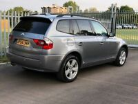 BMW X3 2.5 i Sport 5dr Automatic - Leather - Rear Sensors - Heated Seats - Tinted Glass