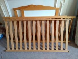 Wooden Cot-Toddler Bed
