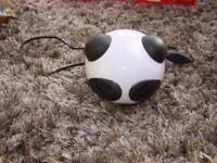 Panda USB Speaker with volume control. VGC, great fun to listen to music. £3.00. Torquay.