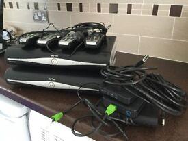 Sky HD boxes remotes magic eyes wireless conectors
