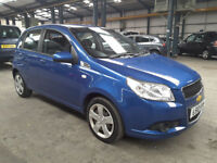 2010(10)CHEVROLET AVEO 1.2 LS MET BLUE,PAS,AIRCON,CLEAN CAR,GREAT VALUE