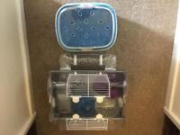 Hamster cage starter kit and carry case