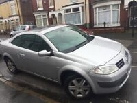 Renault megane convertible Great car very well looked after low mileage